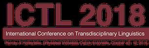 The International Conference on Transdisciplinary Linguistics 2018 Logo